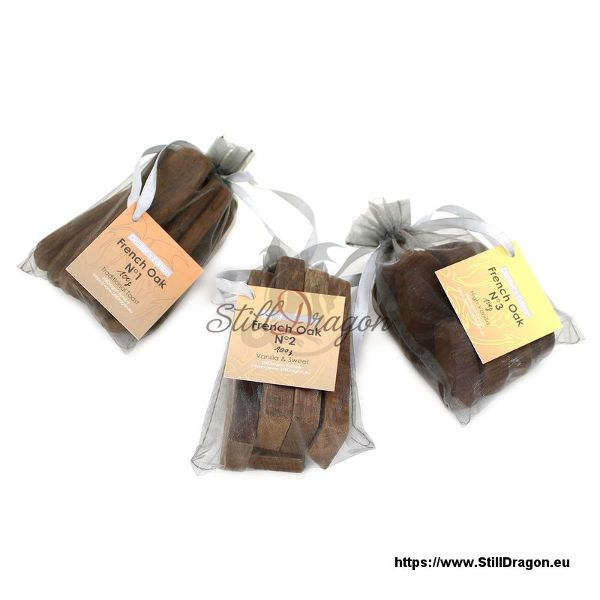 French Oak Pack of 3 Variety (A)