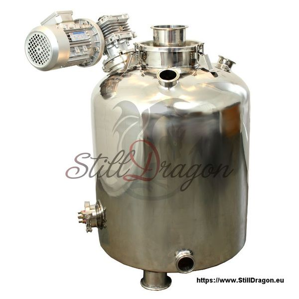 100L Milk Can Boiler with (detachable) Agitator