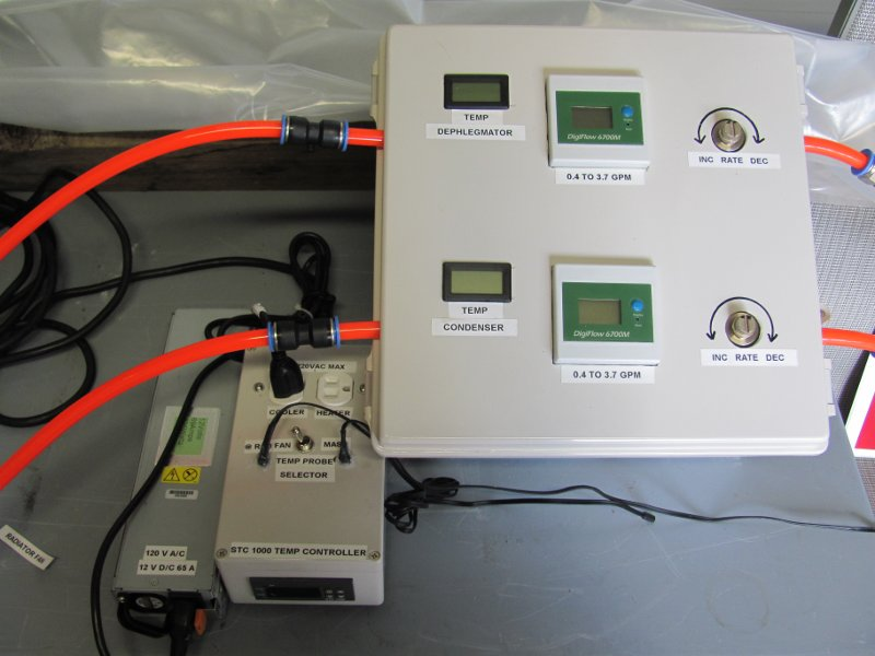 """Panel Digiflow Digital Flow Meter count up total Water Gallons GPM 56/""""cable CORD"""