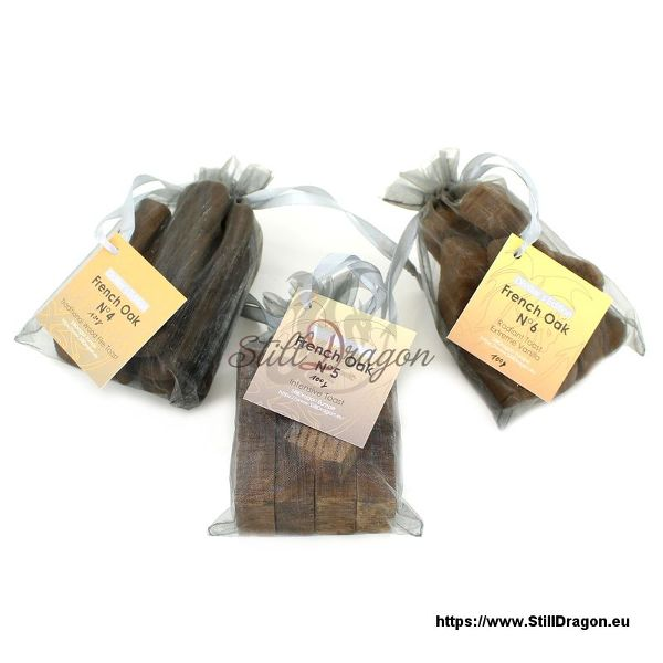 French Oak Pack of 3 Variety (B)
