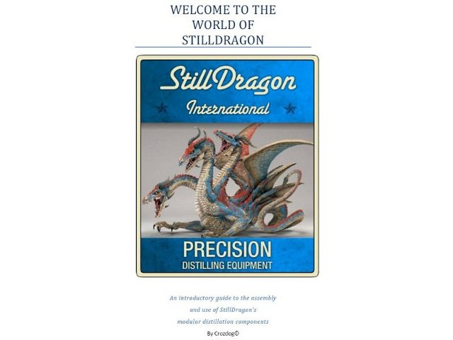 The StillDragon® Dash™ Operation Manual